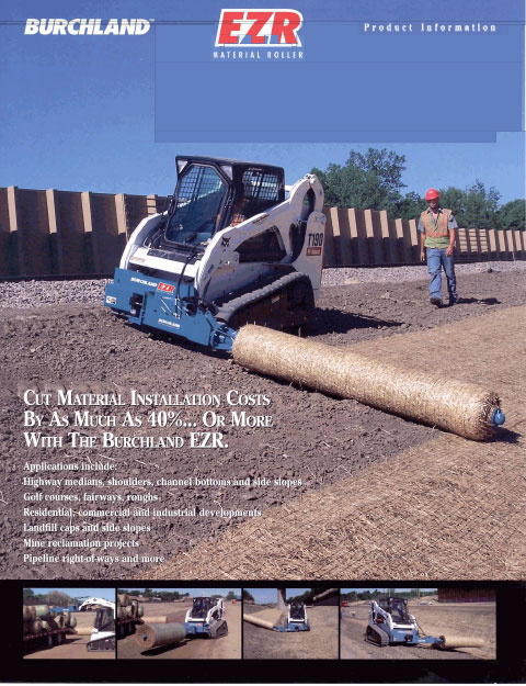burchland material roller brochure